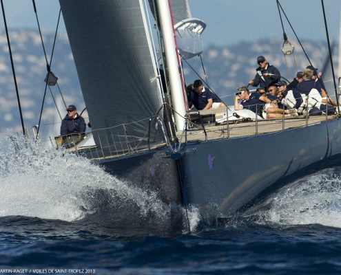 30/09/2013 - Saint-Tropez (FRA,83) -  Les Voiles de Saint-Tropez 2013 - Day 1 - Wally Yachts and J Class