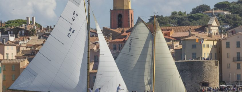 26/09/2020, Saint-Tropez (FRA,83), Les Voiles de Saint-Tropez 2020, Day 1, Training, Finish Yacht Club de France Cup Cannes - Saint-Tropez